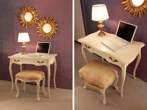 Art. 523 Valerie, Executive desk, luxury classic, for office