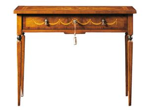 Biagio FA.0043, Maggiolini-style writing desk with one drawer