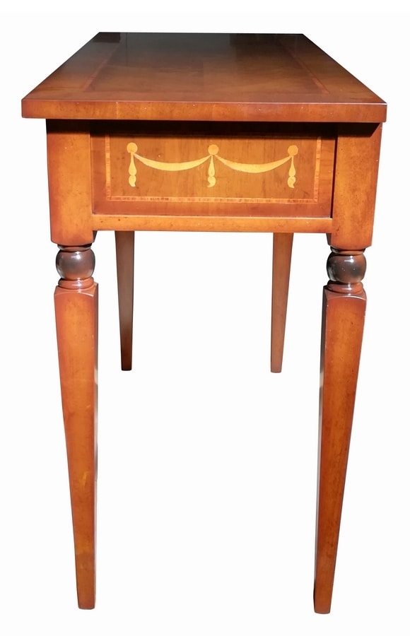 Biagio FA.0043, Maggiolini-style writing desk with one drawer
