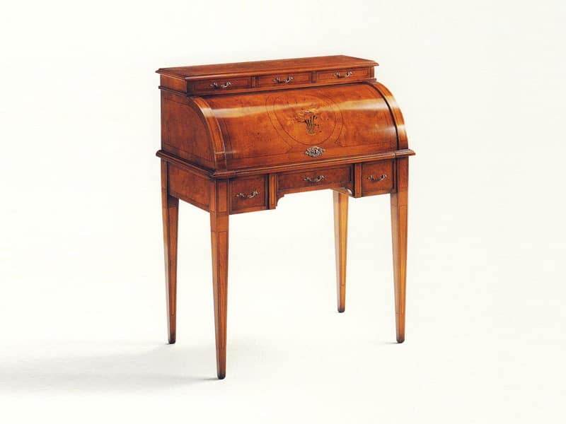 Blake, Wooden writing desk, for luxury classic office