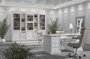 Fenice desk, Lacquered desk, for prestigious offices