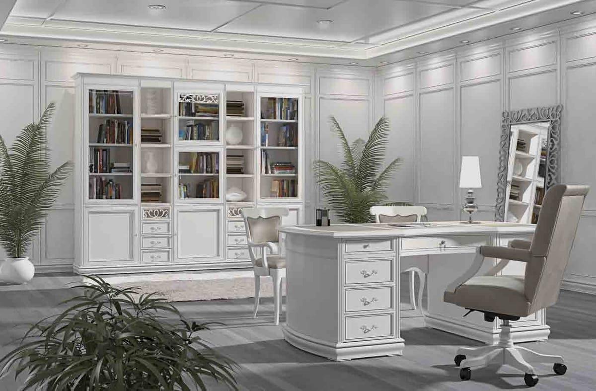Fenice desk, Lacquered desk, for prestigious offices