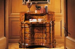 MEMORY Art. 400 / Bureau, Writing desk in '700 Venetian style, with drawers
