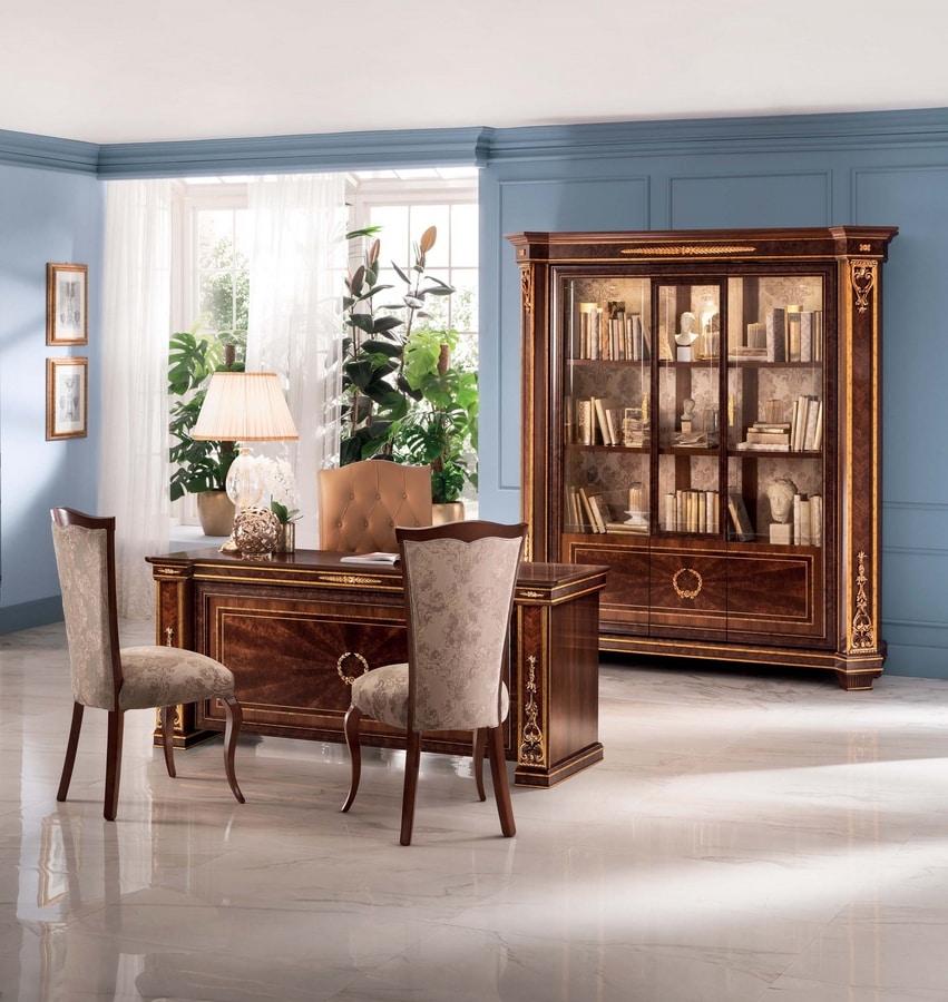 Modigliani desk, Luxurious Empire style desk