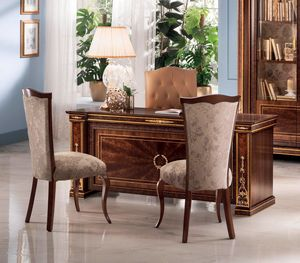Modigliani desk, Luxurious Empire style desk
