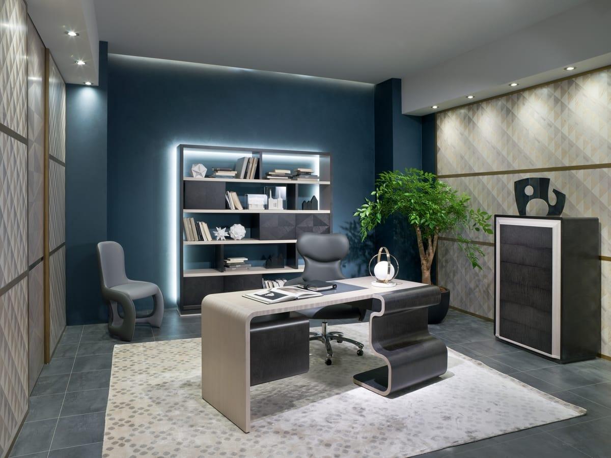 SC29 Wave desk, Wooden office desk