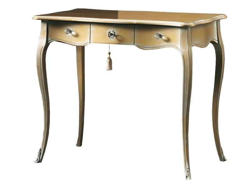 Tommaso FA.0049, Desk with three drawers, Louis XV style