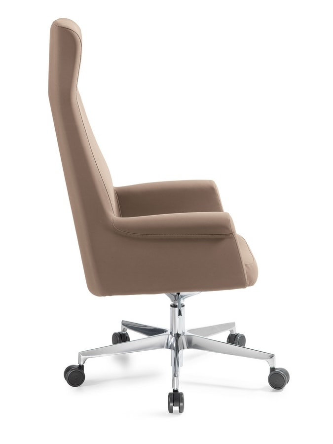 Anna high, Office chair with high back