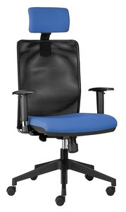 Easy SY with headrest, Executive chair with headrest, for office