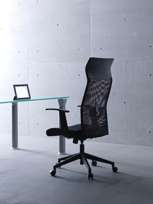 Flash, Directional chair with wheels, tension regulator