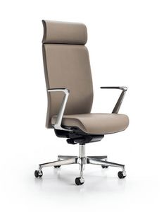 Glamour 2100, Executive office armchair, with high back