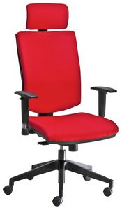Golf SY with headrest, Chair with headrest, for managerial office