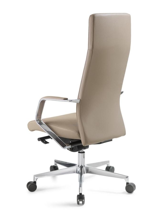 Line high, Executive office chair
