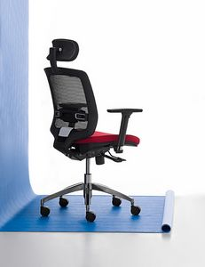 New Malice 01 PT, Managerial chair for professional studio, ergonomic