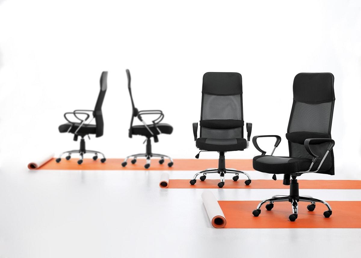 Mesh 01, Executive armchair in mesh