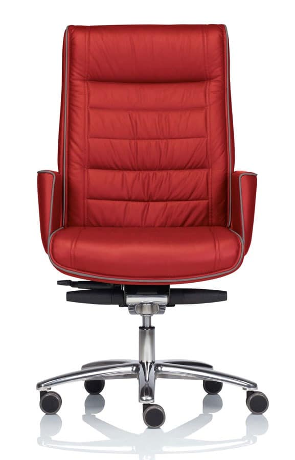 executive office chair with adjustable height idfdesign