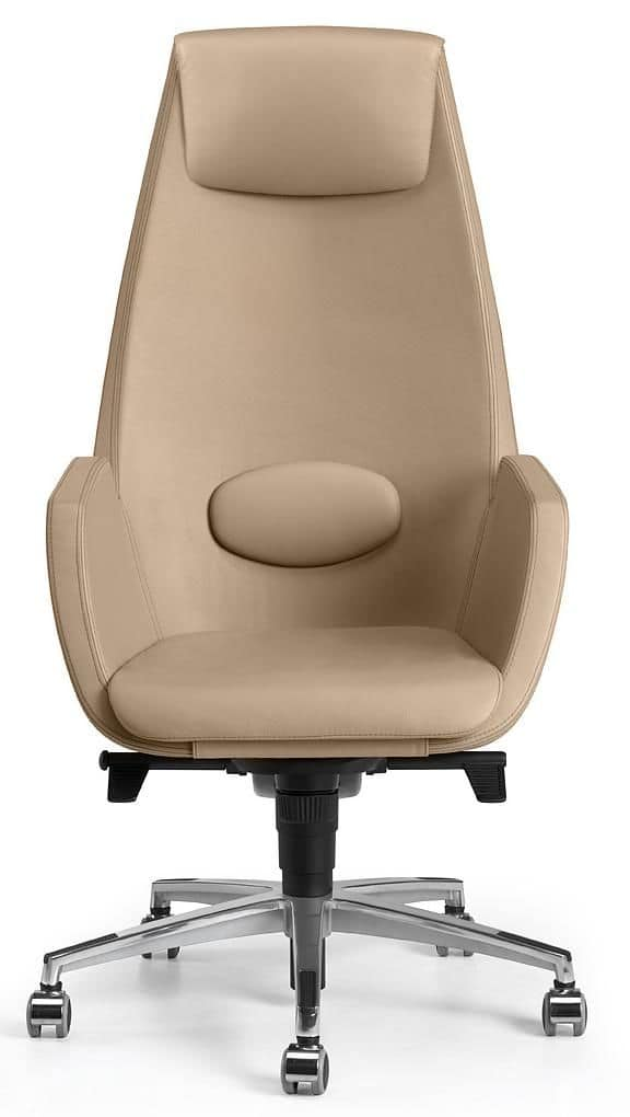 NUBIA 2928, Fully padded executive chair with wheels and a gas lift system