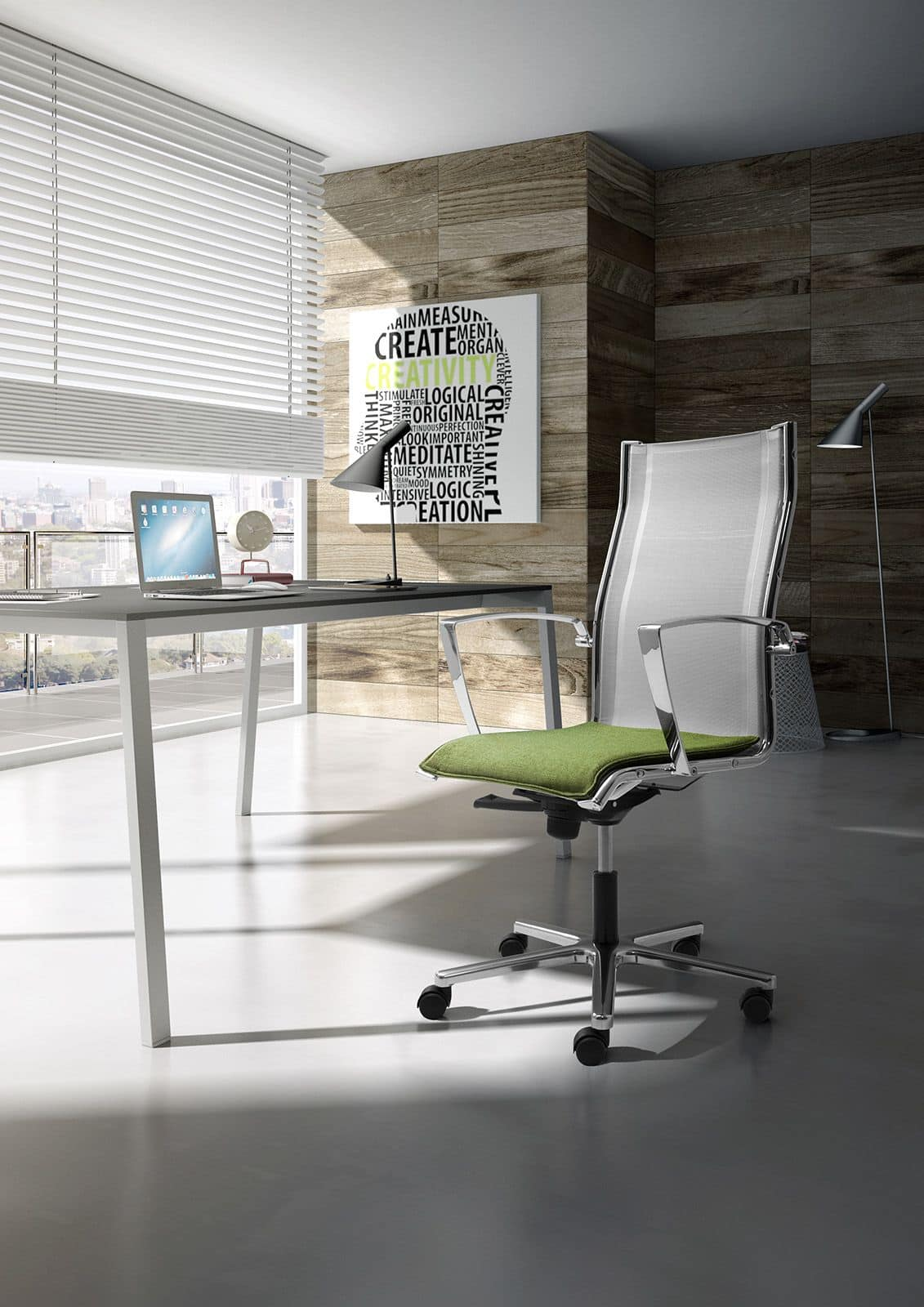 Origami RX, Executive chair with mesh backrest
