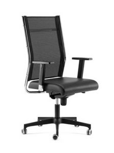 SYNCRONET, Executive armchair, mesh back, adjustable armrests