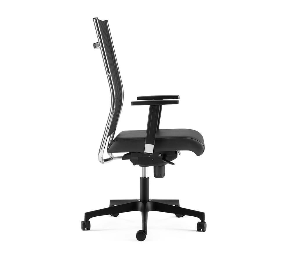 SYNCRONET, Executive armchair, mesh back, adjustable armrests
