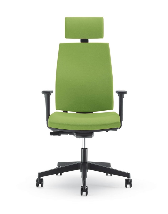 UF 440 / A, Office chair with armrests regulating, cold foam