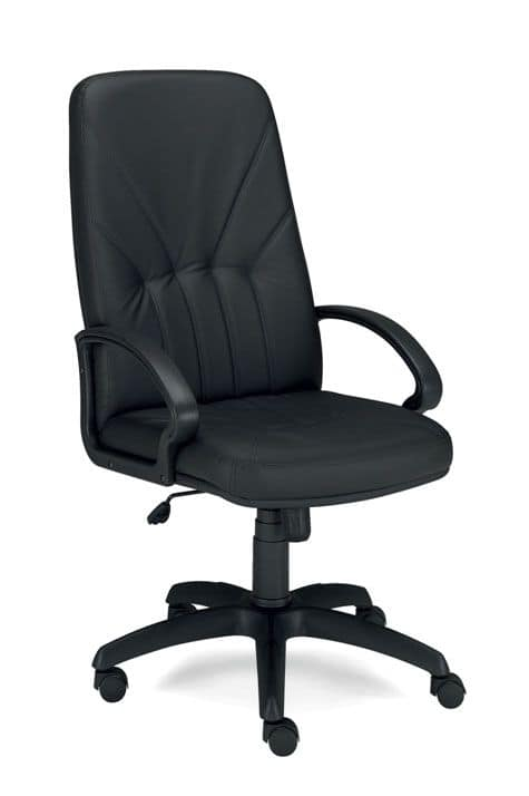 UF 500 / A, Executive chair with gas lift and base with wheels