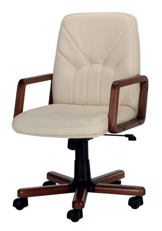 UF 501 / B, Office swivel chair, swinging hydraulic mechanism