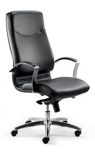 UF 530 / A, Executive chair, high back, wheels, tilt mechanism