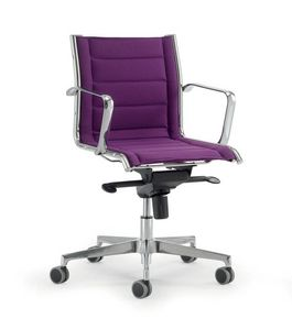 UF 546 / B, Swivel chairs with gas lift system ideal for office