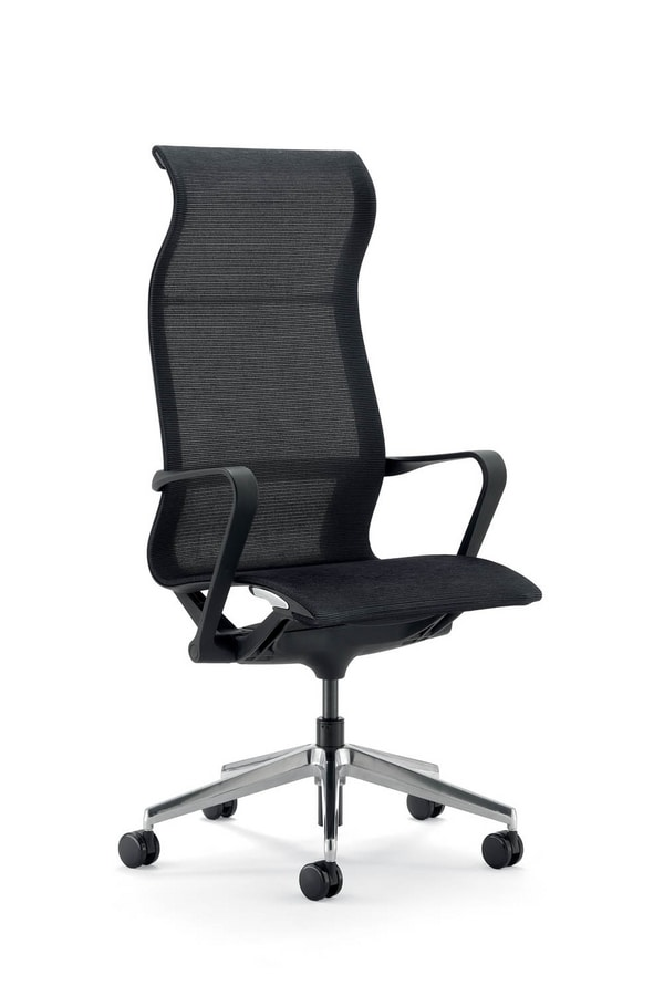 UF 547 / A, Executive office chair, in mesh