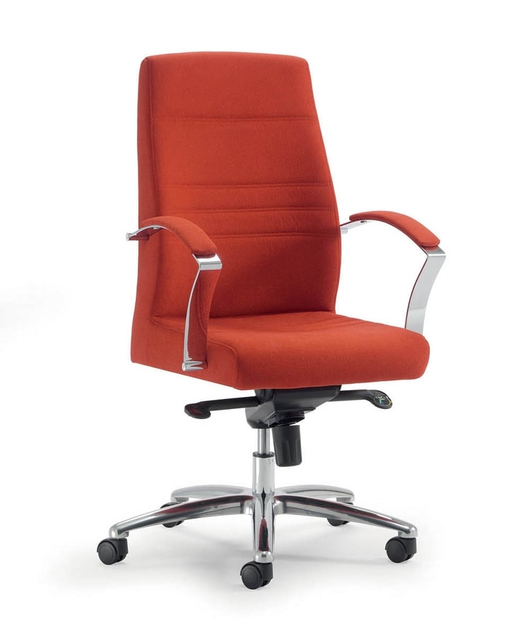 UF 603 / B, Executive chair with low backrest ideal for modern office