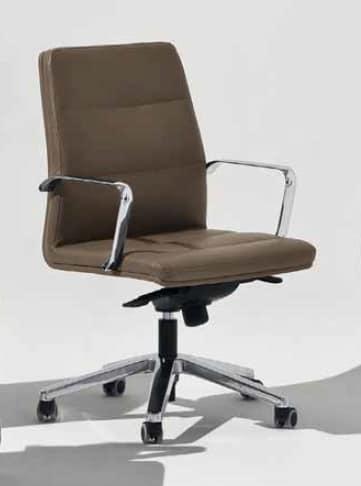 Venus-D, Padded office chair on castors