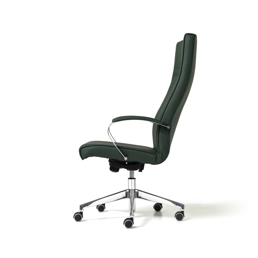 Venus, Chair with 5-spoke, ergonomic, for professional studio