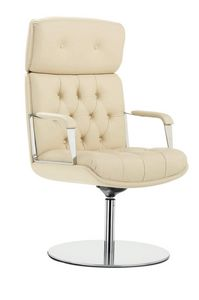 Vintage 4200, Swivel office armchair, with disc base
