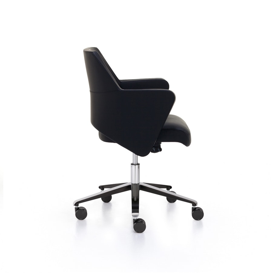 Wrap 03, Office chair with low backrest