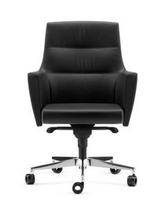 ADMIRAL, Semi-executive armchair with armrests, for offices