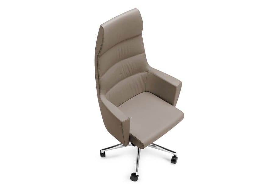 ADMIRAL, Executive armchair with armrests, for office