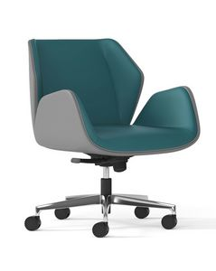 HAIKU, Office armchair with low back