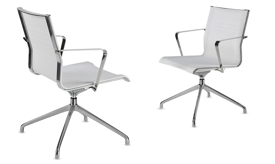 KEYPLUS 3162, Office armchair in elastic knit