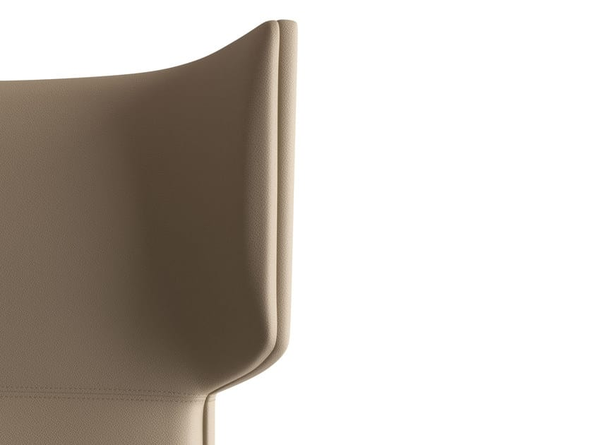 MAXIMA, Executive armchair with synchronized movement, on castors