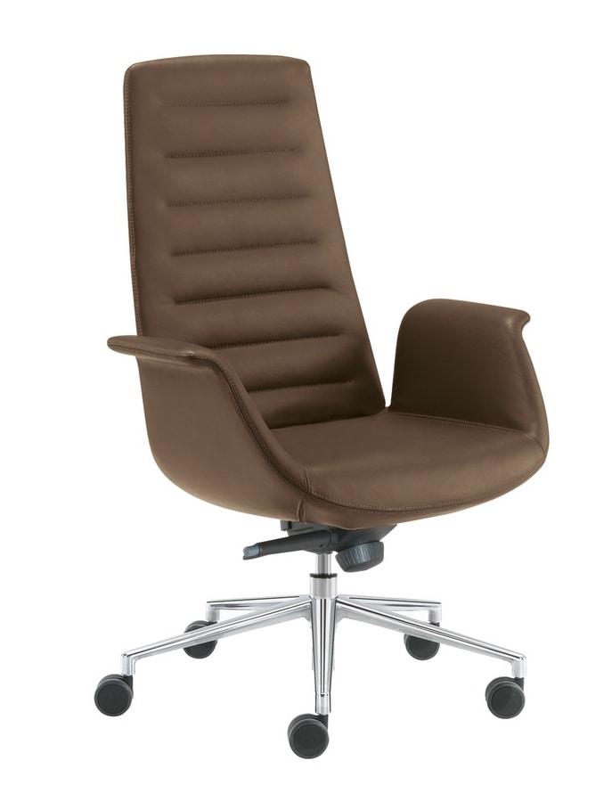 Modà, Executive office chair with headrest
