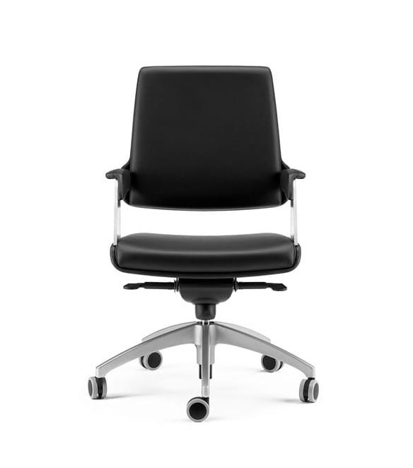 OMNIA, Semi-directional armchair with advanced fulcrum swing
