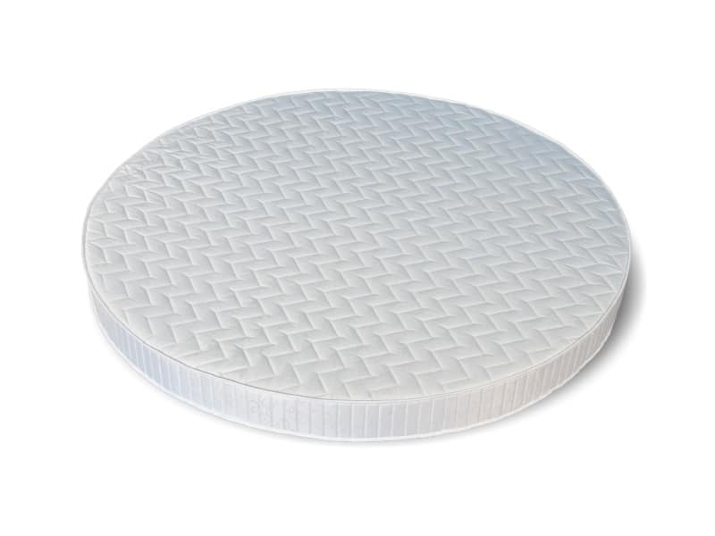 Sole, Round mattress, available in various sizes and thicknesses