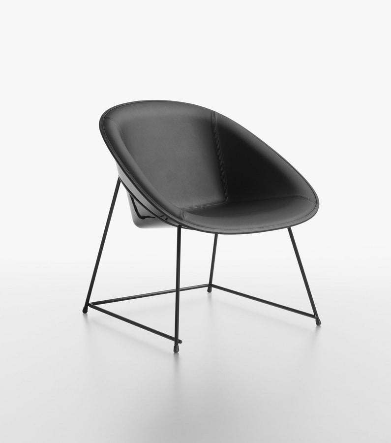Sensational Padded Lounge Chair Idfdesign Creativecarmelina Interior Chair Design Creativecarmelinacom