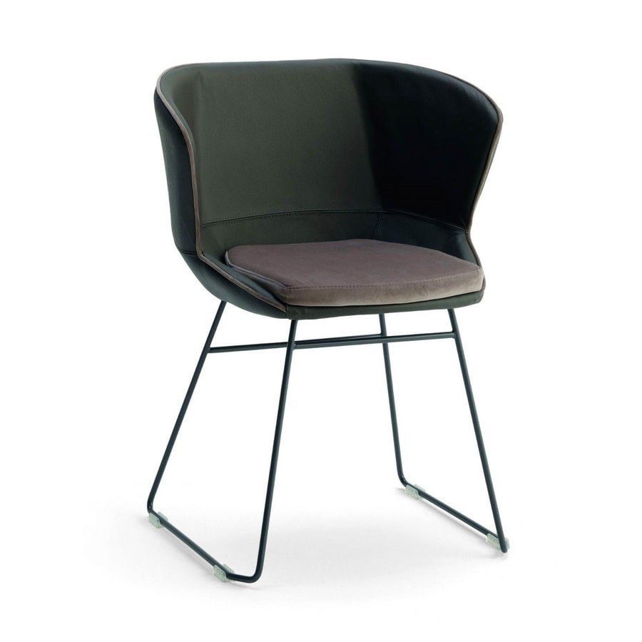 Baxi PT, Armchair with sled base