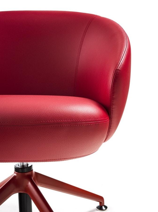 Botero Mignon, Armchair with spider base