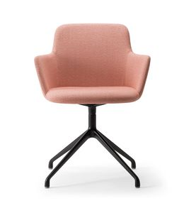 CLO� ARMCHAIR 025 PZ, Armchair with four-star base