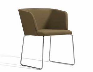 Concord 521CV, Small armchair with metal sled base