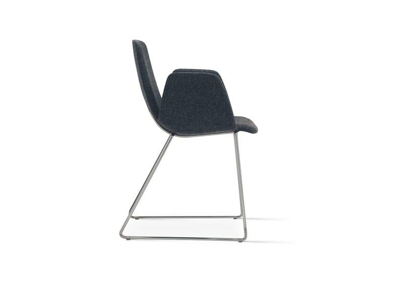 Ics 506PTN, Sled base armchair