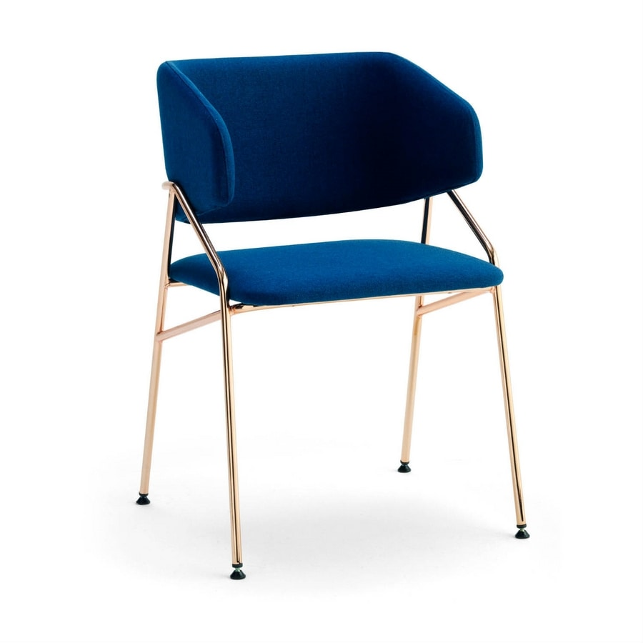 Line PT, Modern armchair with enveloping backrest